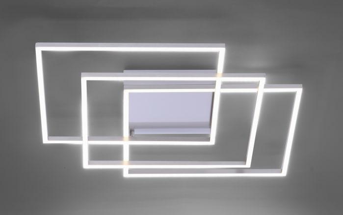 LED-Deckenleuchte Q-Inigo aus Stahl, 60 cm