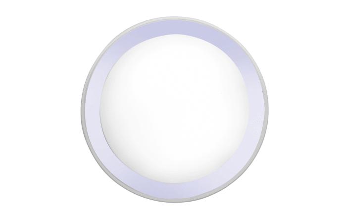 LED-Deckenleuchte Medion Smart Home in chromfarbig, 45 cm