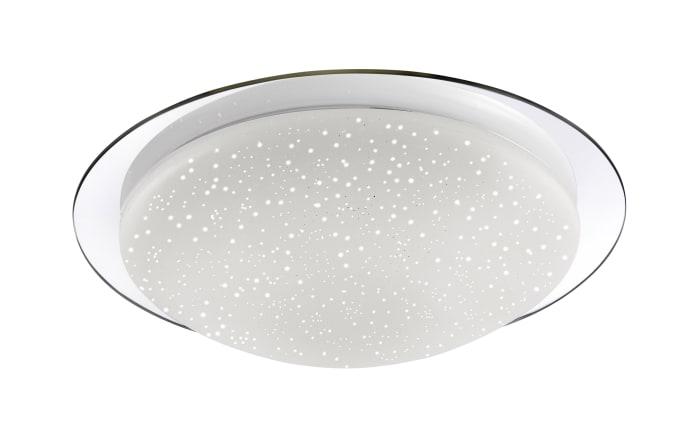 LED-Deckenleuchte Skyler in chrom