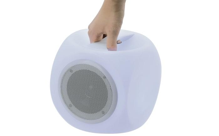 led akku leuchte mit bluetooth lautsprecher peer online bei hardeck kaufen. Black Bedroom Furniture Sets. Home Design Ideas
