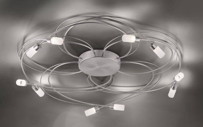 LED-Deckenleuchte Nelia In Stahlfarbig, 80 Cm Online Bei