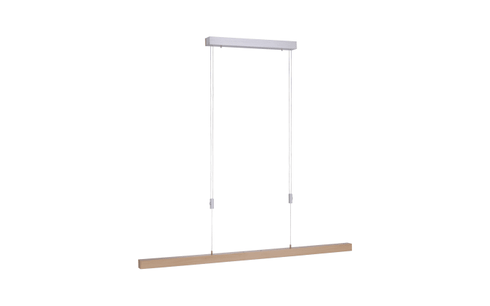 LED-Pendelleuchte Adriana mit Holzdekor-01