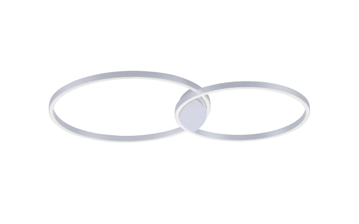 LED-Deckenleuchte Q-Kate in aluminiumfarbig, 96 cm-01