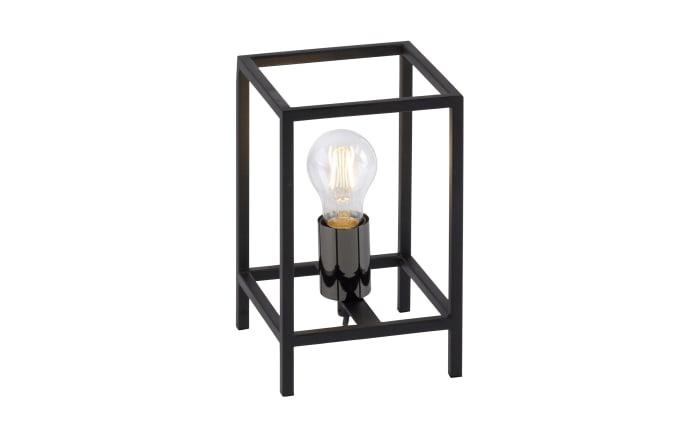 Tischleuchte Fabio in schwarz, 23,5 cm