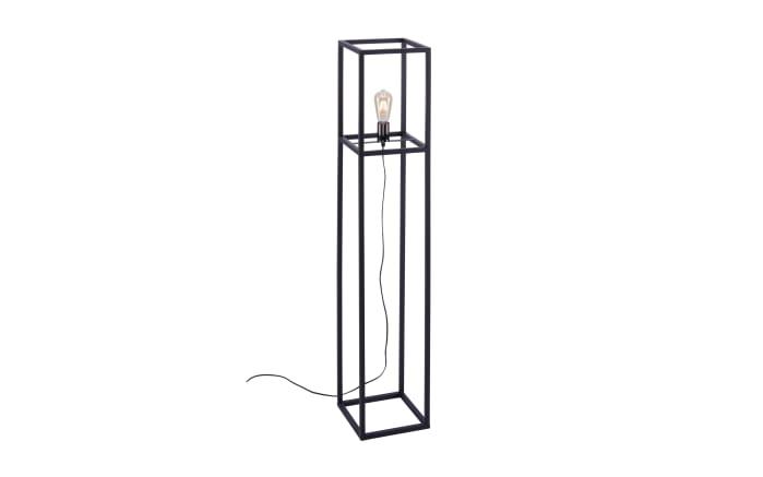 Standleuchte Fabio in schwarz, 130 cm