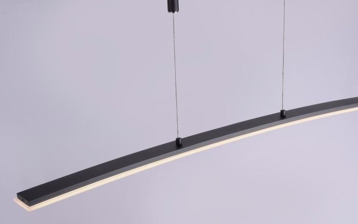 LED-Pendelleuchte Janina in anthrazit