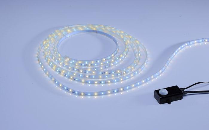 LED-Stripe Teania in weiß, 5 m