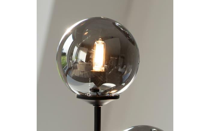 LED-Tischleuchte Widow in schwarz, 12,5 cm