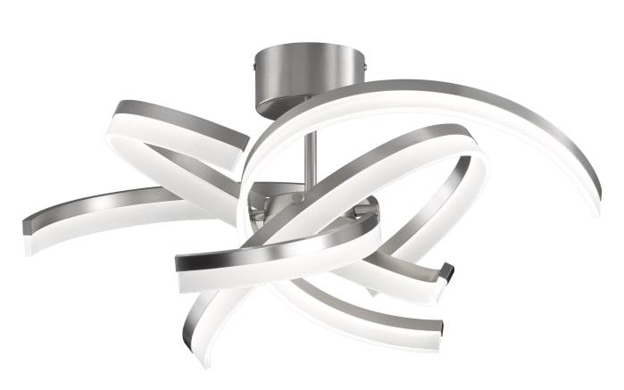 LED-Deckenleuchte Sund in nickel matt, 65 cm
