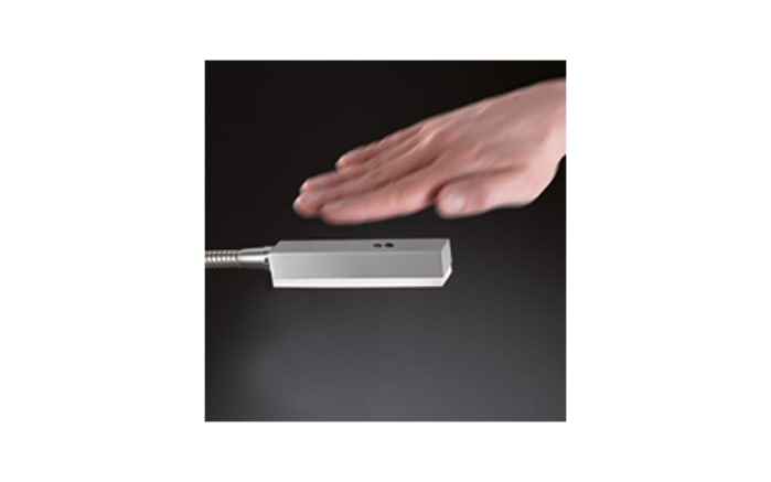 LED-Bettleuchte Raik in nickel matt, 45 cm-03