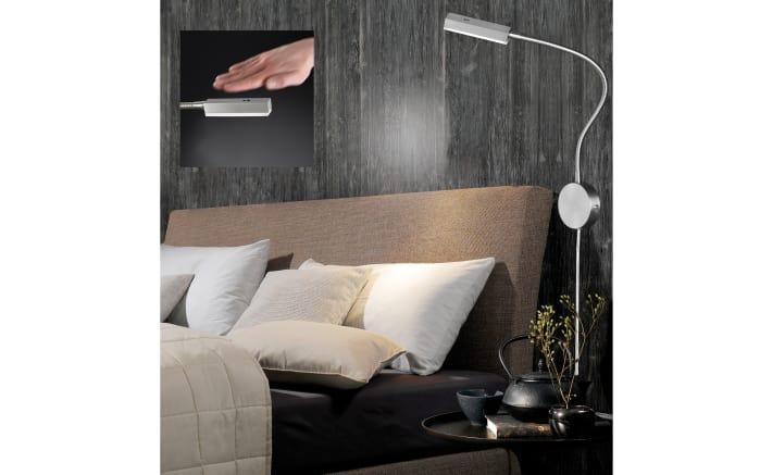 LED-Wandleuchte Raik in nickel matt