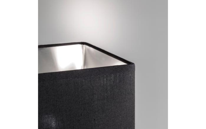 Tischleuchte Bert in anthrazit/silber verspiegelt, 35 cm