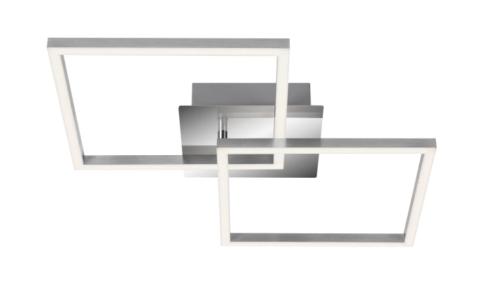 LED-Deckenleuchte 3210018 in silberfarbig, 62 x 37 cm