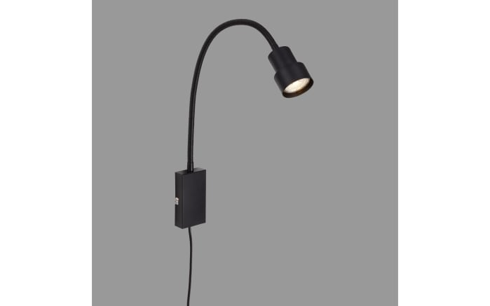 LED-Wandleuchte Tusi in schwarz-03