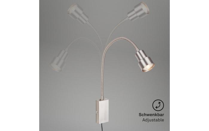 LED-Wandleuchte Tusi in nickel matt-04