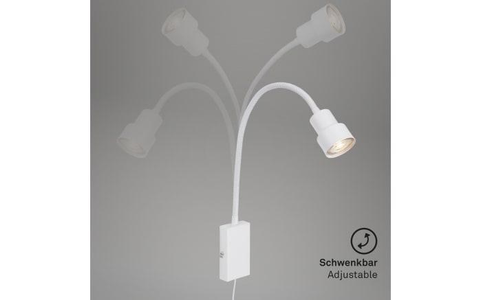 LED-Wandleuchte Tusi in weiß-04