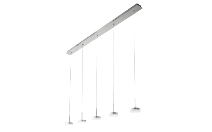 LED-Pendelleuchte Dunk in aluminium