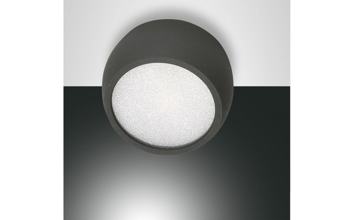 LED-Wandleuchte Vasto in anthrazit