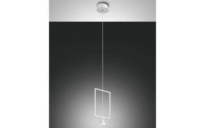 LED-Pendelleuchte Sirio in weiß