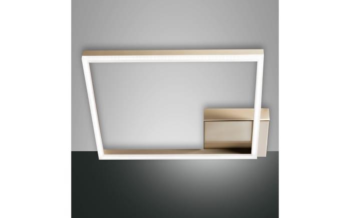 LED-Deckenleuchte Bard in gold matt, 42 x 42 cm
