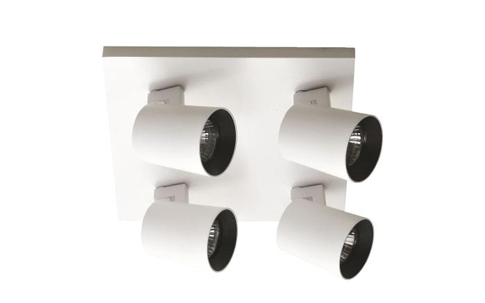 Deckenleuchte Modo in weiß/schwarz
