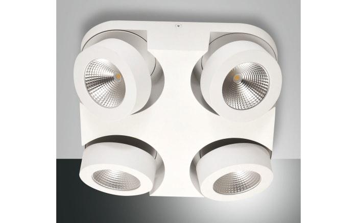 LED-Deckenleuchte Hella in weiß, 4-flammig