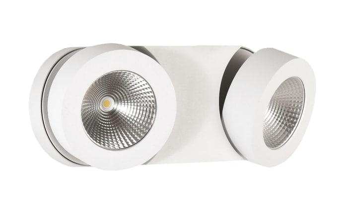 LED-Deckenleuchte Hella in weiß, 2-flammig