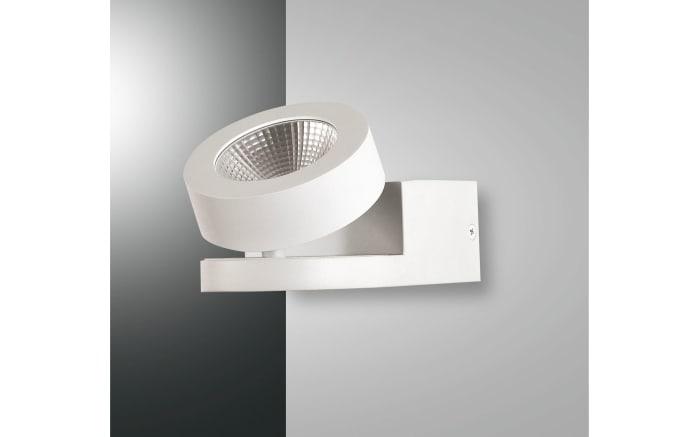 LED-Wandleuchte Hella in weiß, 1-flammig