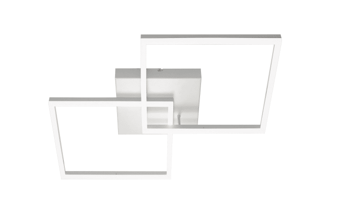 LED-Deckenleuchte Bard in weiß