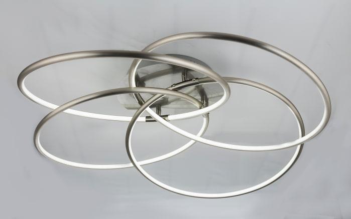 LED-Deckenleuchte Barna in nickel matt, 85 cm