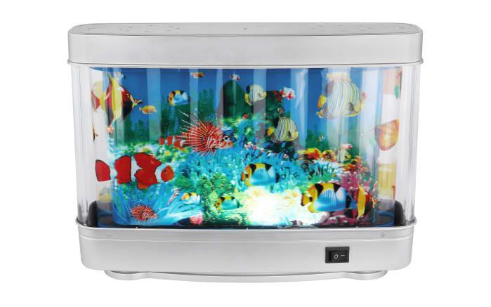 LED-Tischleuchte Abai mit Motiv: Fische