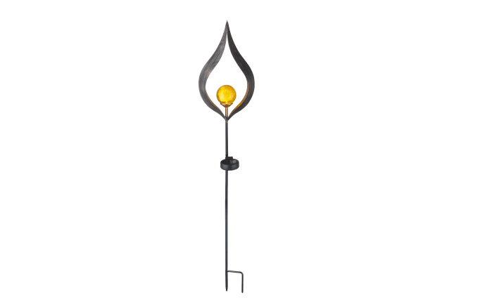 LED-Solarleuchte in bronze, 90 cm