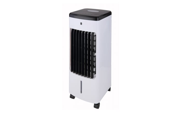 Standventilator Air Cooler in weiß/schwarz, 57 cm