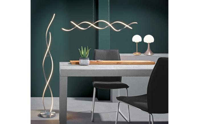 LED-Tischleuchte Corby in nickel