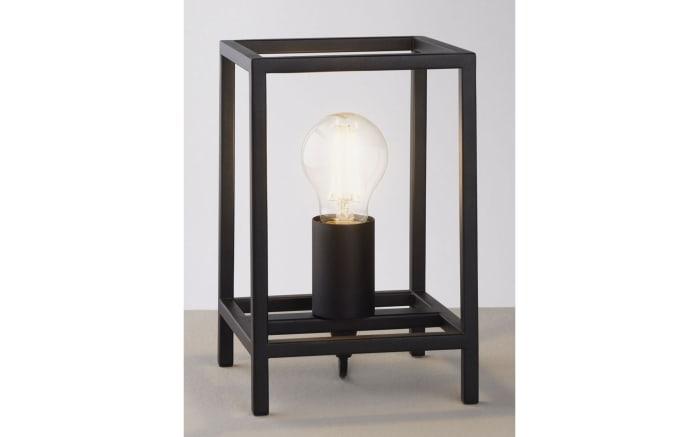 Tischleuchte Hamper in schwarz, 23,5 cm