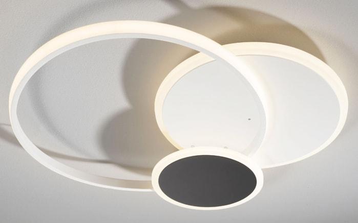 LED-Deckenleuchte Stamp CCT in weiß