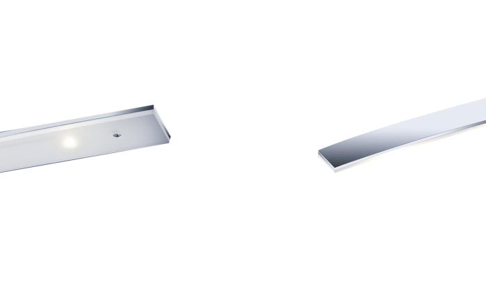 LED-Pendelleuchte Loire in aluminium matt