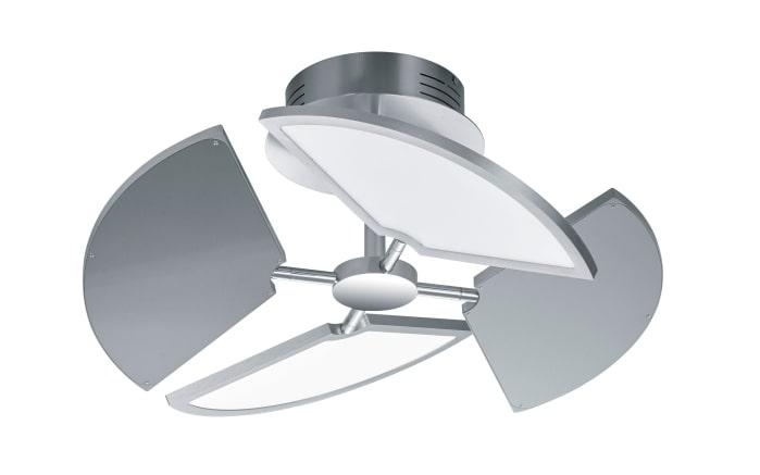 LED-Deckenleuchte Diego in nickel matt