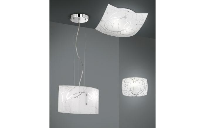 Deckenleuchte Spirelli in weiß, 30 x 30 cm