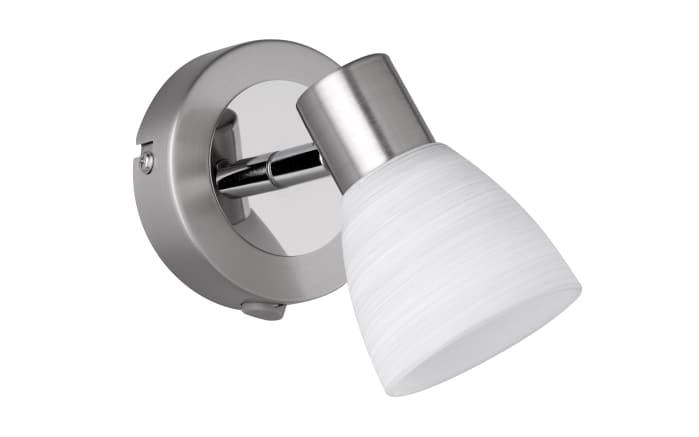 LED-Wandleuchte Carico in nickel matt