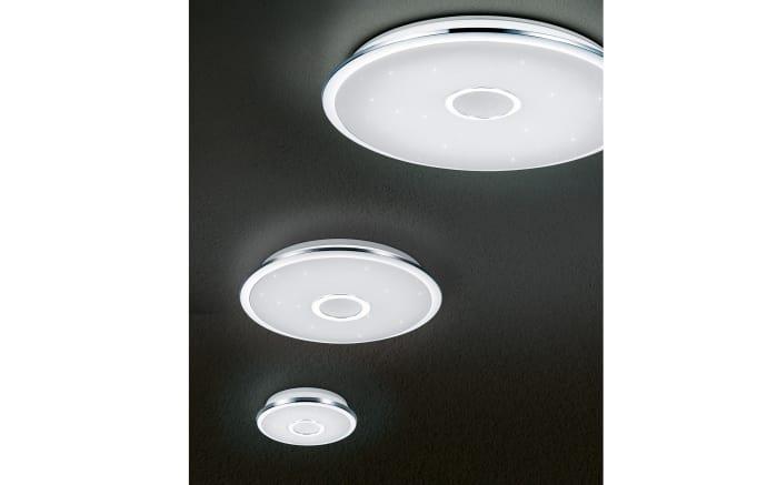 LED-Deckenleuchte Osaka in chromfarbig, 42 cm-02