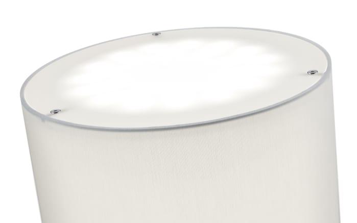 LED-Standleuchte Varese in nickel matt