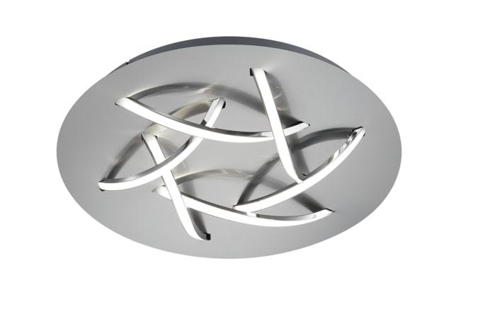 LED-Deckenleuchte Dolphin in nickel matt, 45 cm