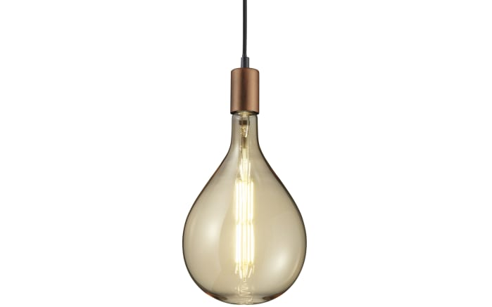 LED-Leuchtmittel Big Tropfen getönt, 8W / E27, 18 cm