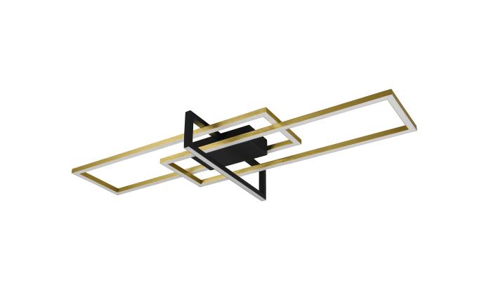 LED-Deckenleuchte Salinas in messing/schwarz, 100 cm-02