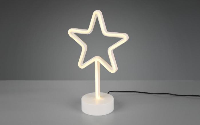 LED-Tischleuchte Star in weiß