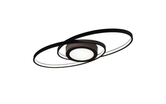 LED-Deckenleuchte Galaxy in schwarz