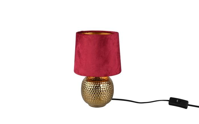Tischleuchte Sophia in gold/rot