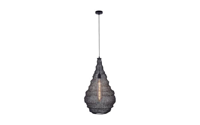 Pendelleuchte Kokon in schwarz, 41 cm -01