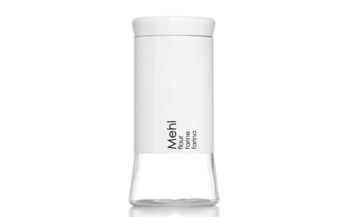Mehldose Cantina in weiß, 1,3 l